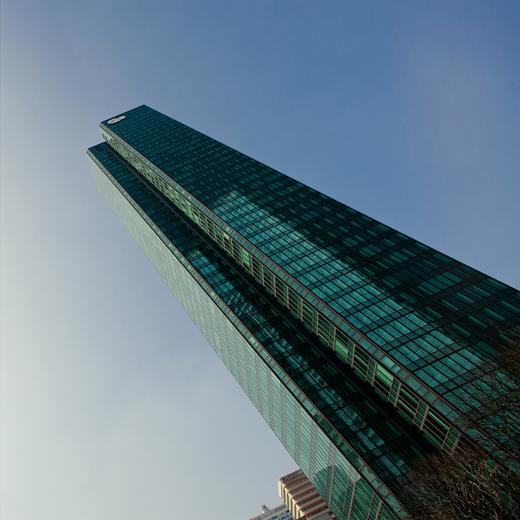 Green Glass Tower