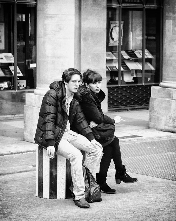 Pause clope en couple