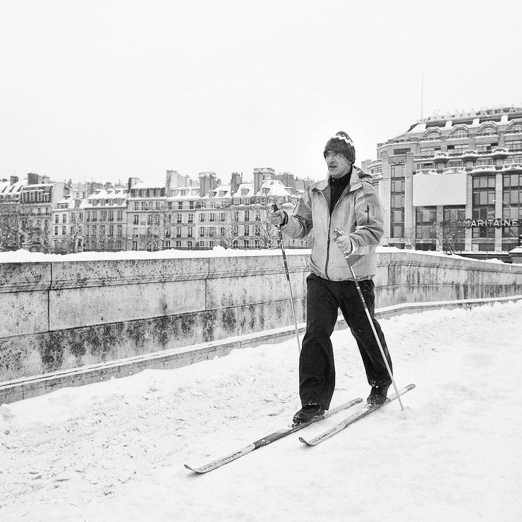 Le skieur du Pont-Neuf