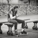 La patineuse lisait des messages secrets