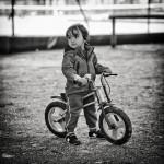 Le bambin au vélo