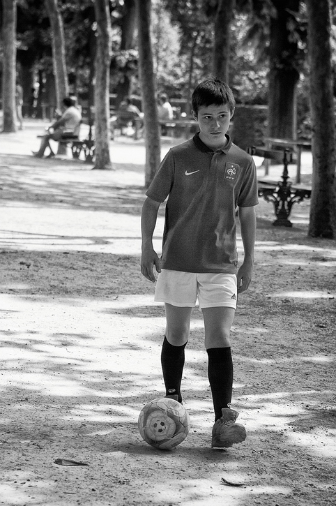Le footballeur