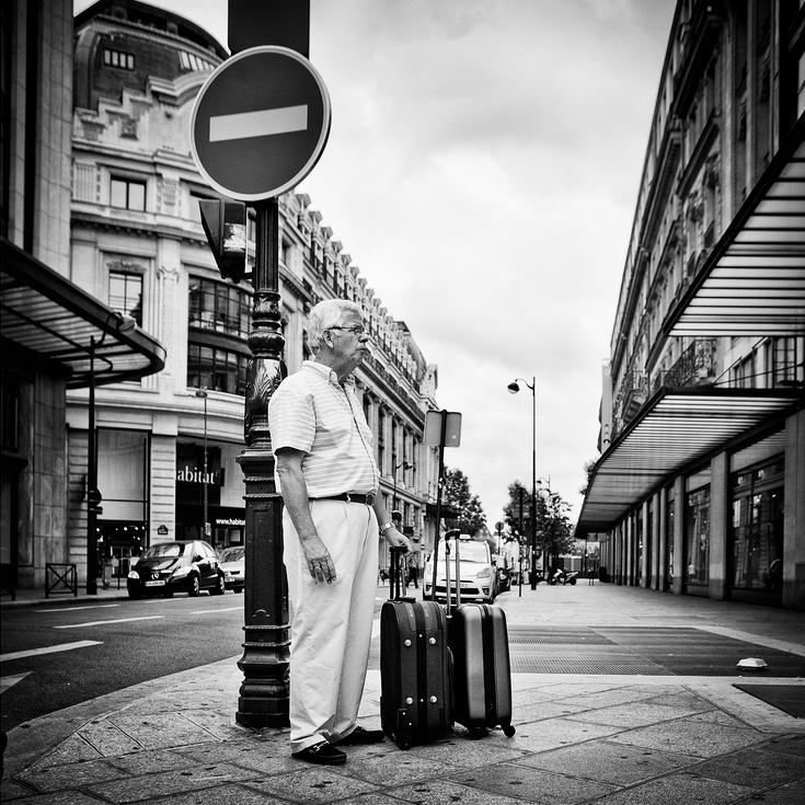 Le gardien des valises