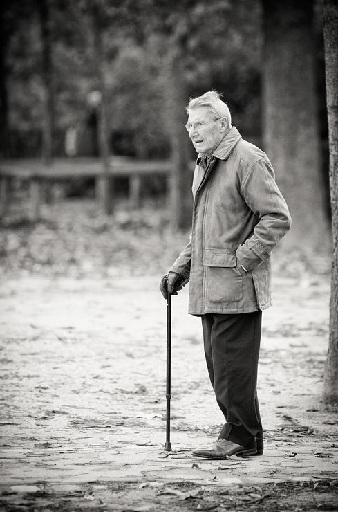 L'homme à la canne de bois