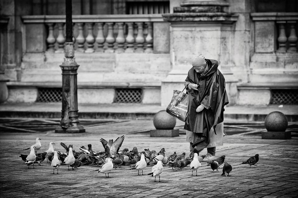La femme aux pigeons