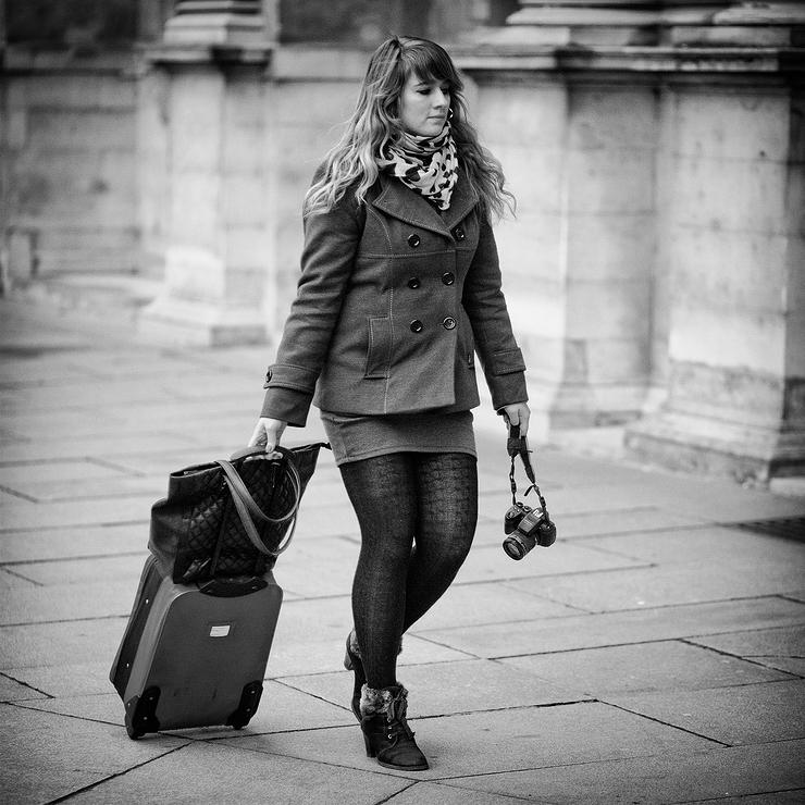 La photographe à la valise