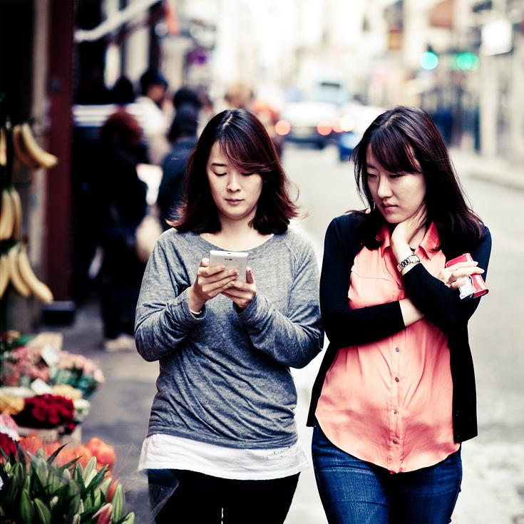 Flâner entre amies dans Paris