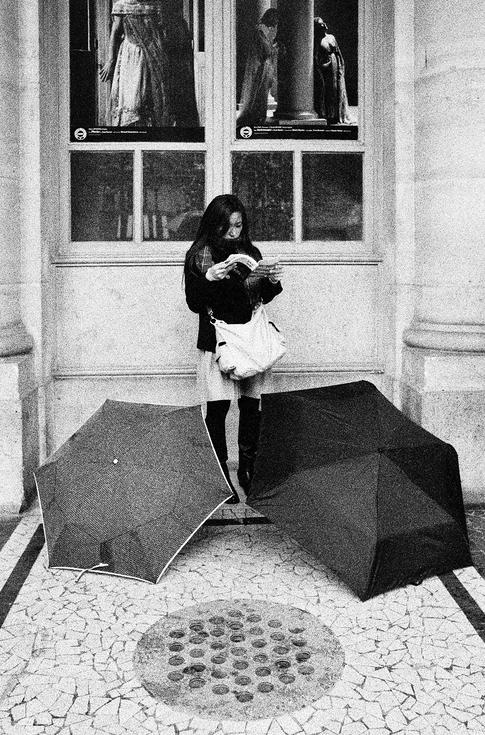 Parapluies au repos