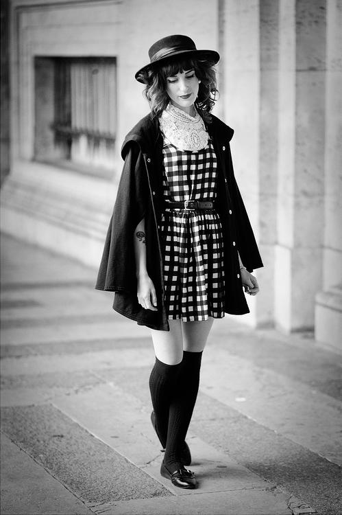 La robe à carreaux