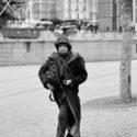 Sur les pavés de Beaubourg