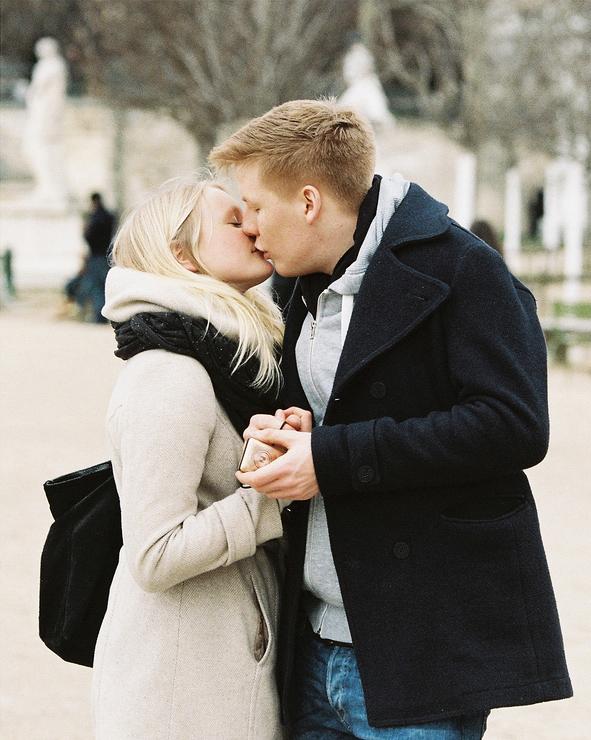 Les jeunes amoureux