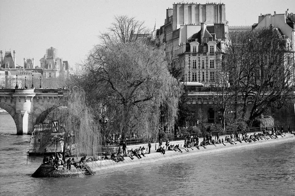 Paris plage en hiver