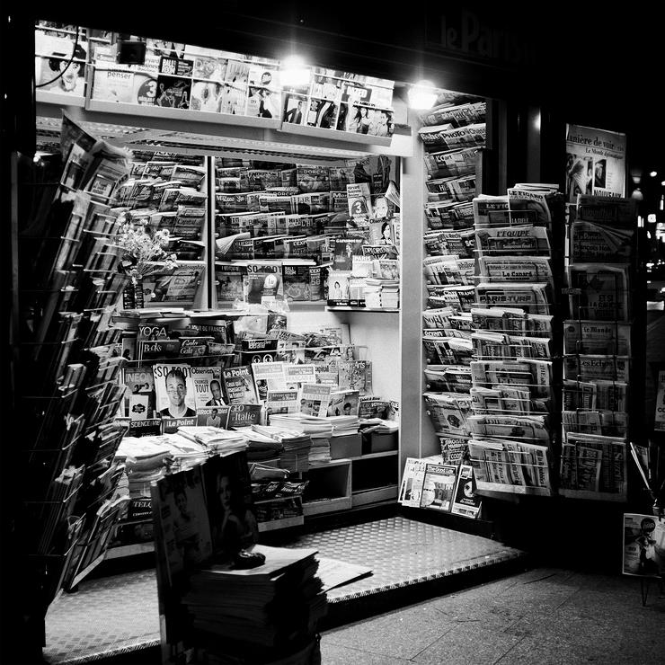 Kiosque de nuit