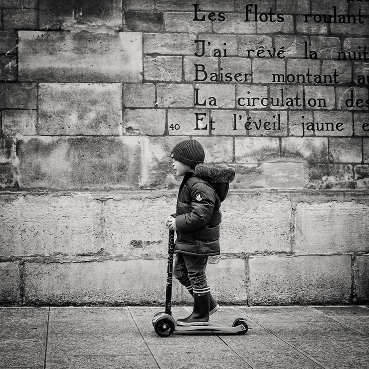 Le petit patineur
