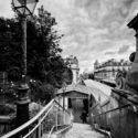 L'escalier de la station Passy