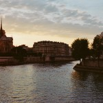 Couché de soleil sur Notre-Dame