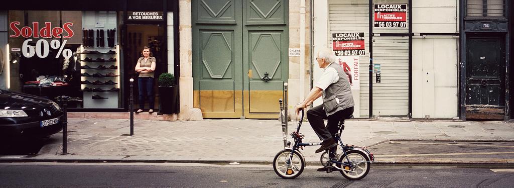 Le petit vélo