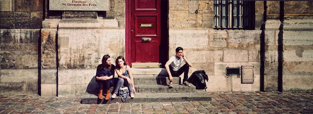 La jeunesse de Saint-Germain-des-prés