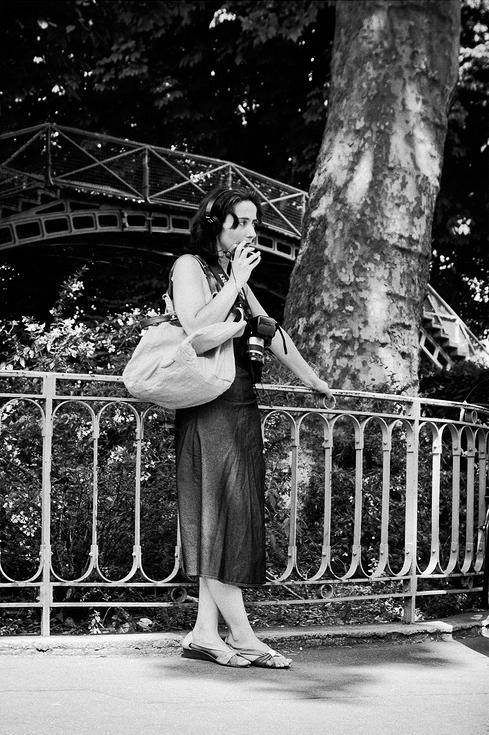 La photographe au téléphone