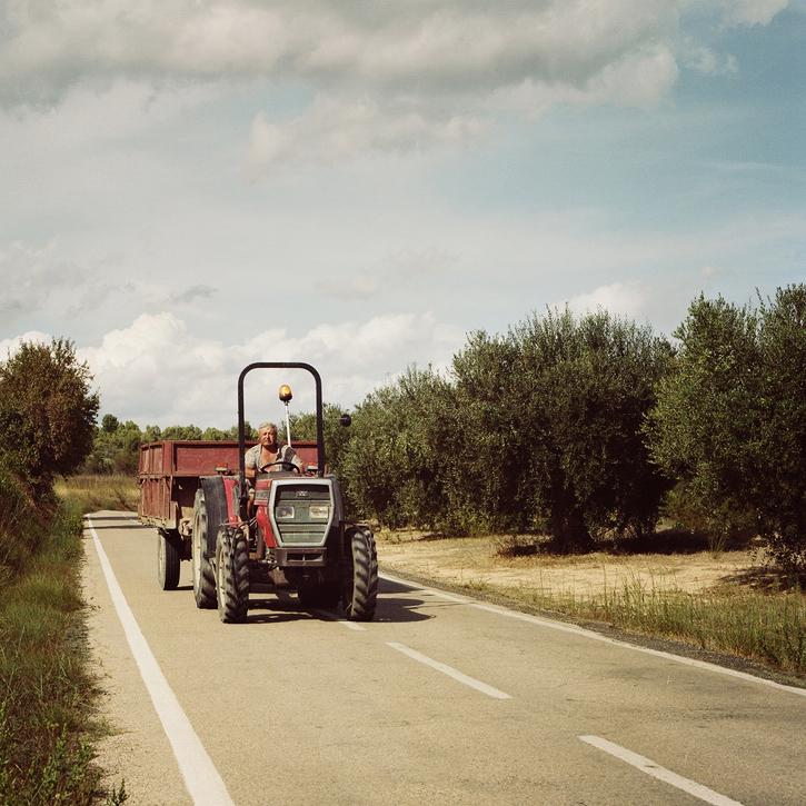 L'homme au tracteur