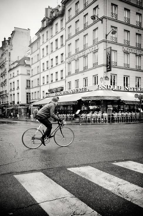 Cyclisme de bon matin