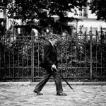 M. Phillips et son parapluie