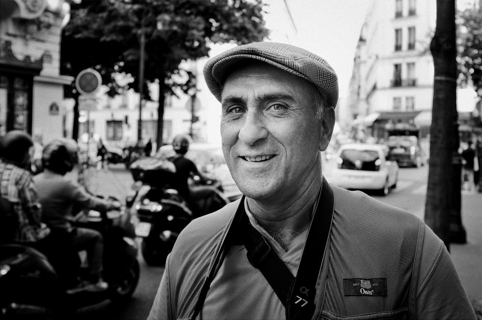L'espiègle photographe de rue
