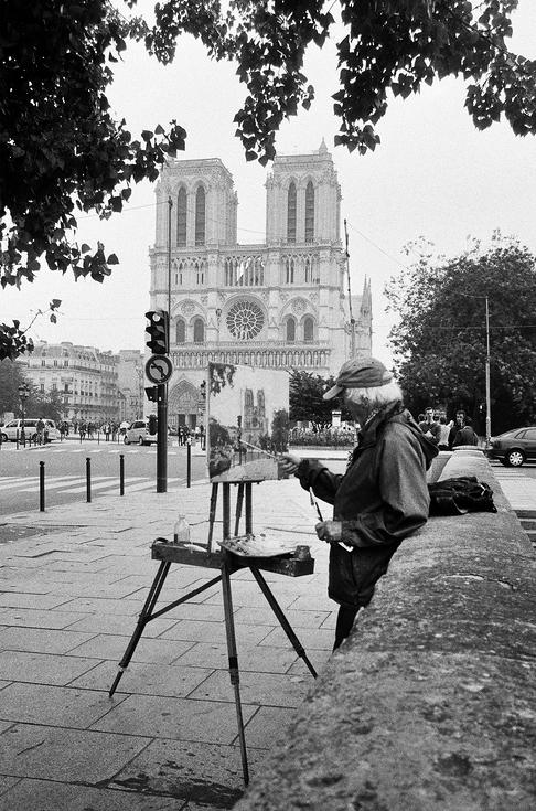Le peintre de Notre-Dame