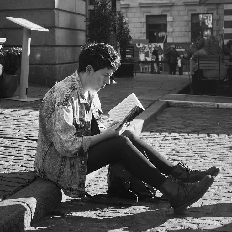 Lecture sur les pavés de Covent Garden