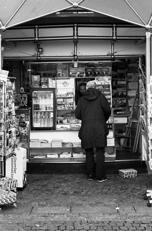 Le vieux kiosque à journaux