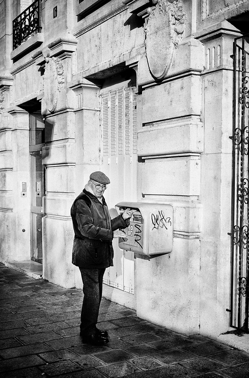 Le courrier est dans la boite