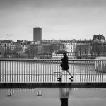 Reflet sur le pont