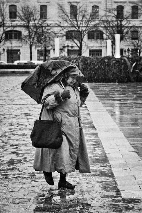 La méchante pluie