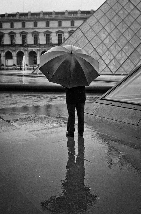 Reflet de pluie