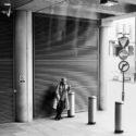 Le fumeur de Saint Pancras