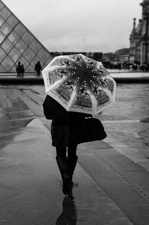 L'hiver sous la pluie