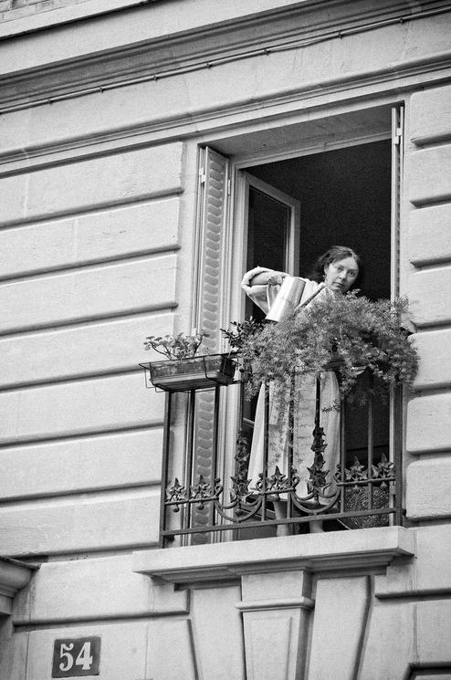 Arroser ses plantes au balcon