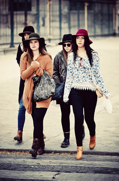 Le gang des chapeaux en feutre