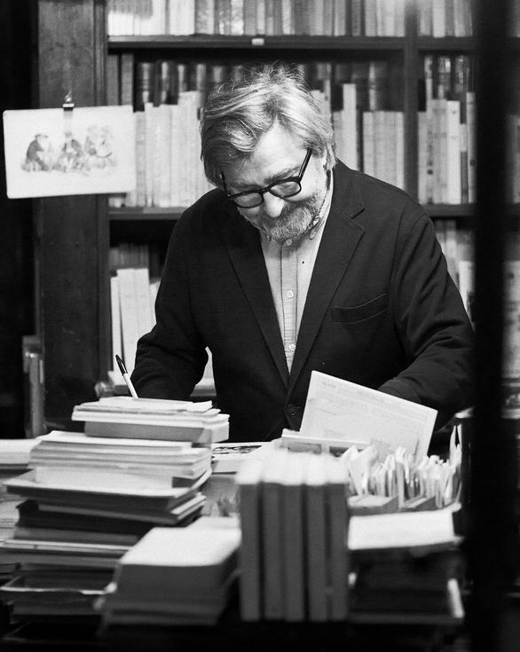 L'homme qui aimait les livres
