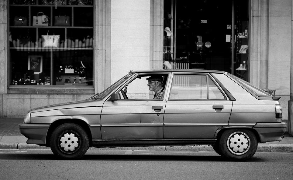 La voiture à papa