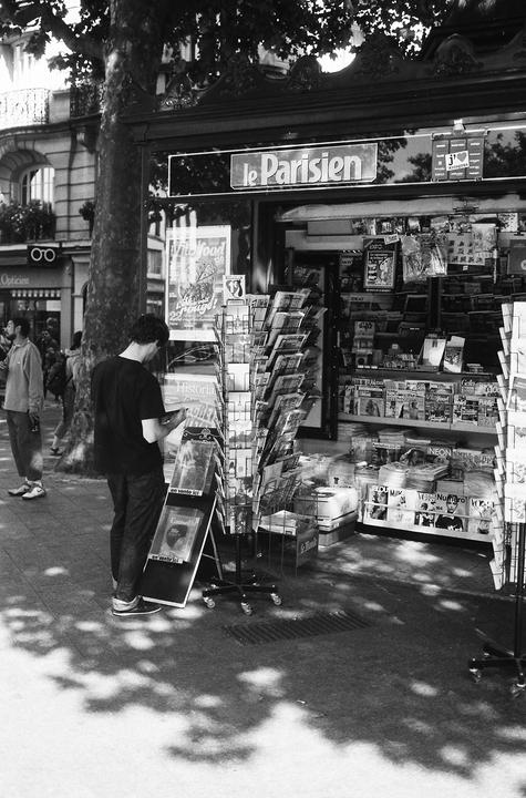 Le kiosque du parisien