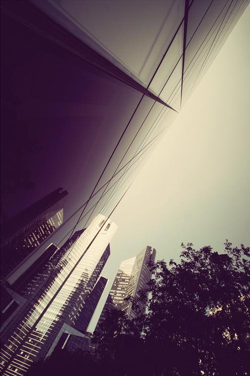 Reflet en diagonale