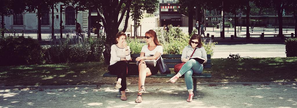 Valérie, Léa & Sandrine