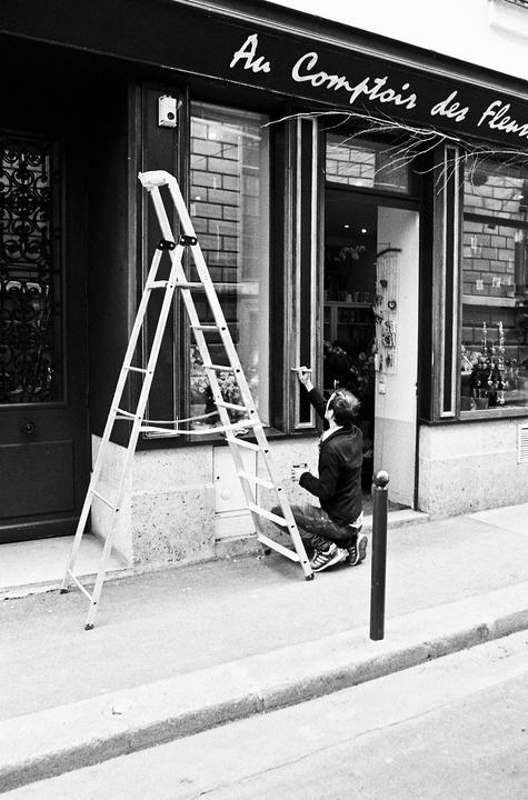 L'échelle du peintre