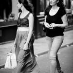 Lilly et son amie Sandra