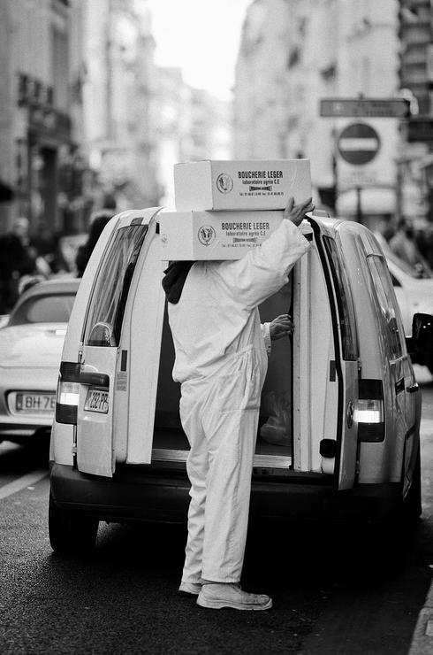 Le porteur de carton