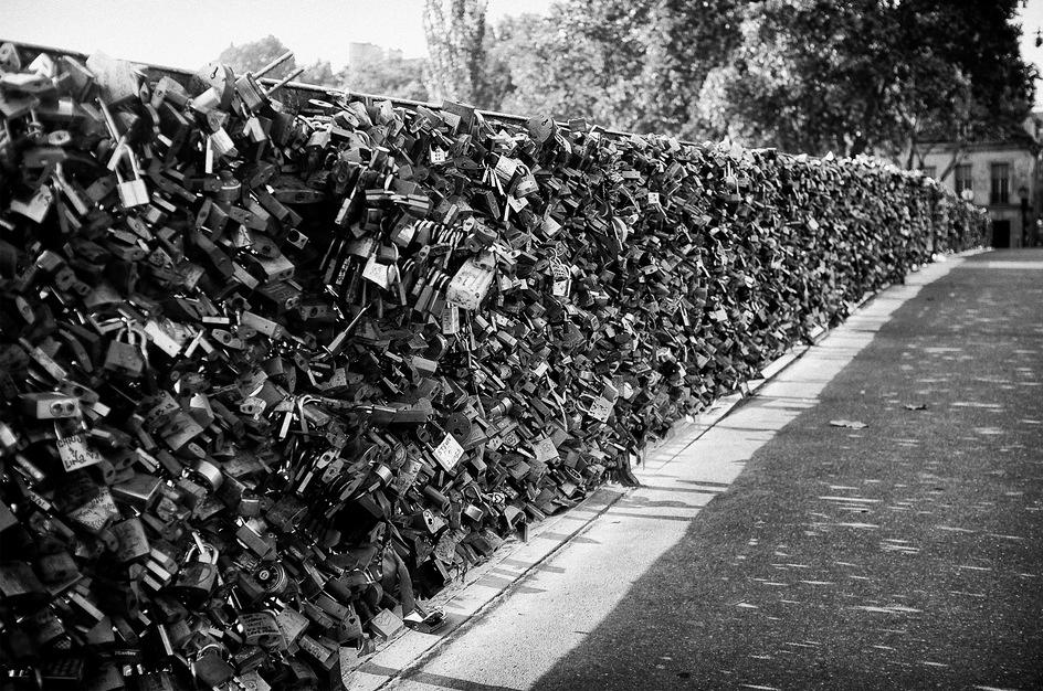 Les cadenas du pont de l'archevêché