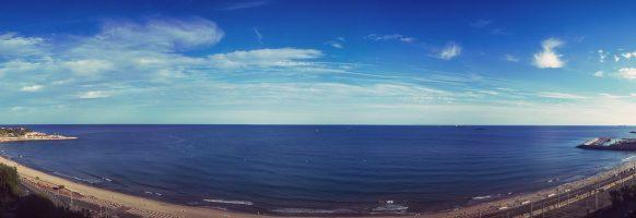 Tarragone – Panorama de la mer méditerranée