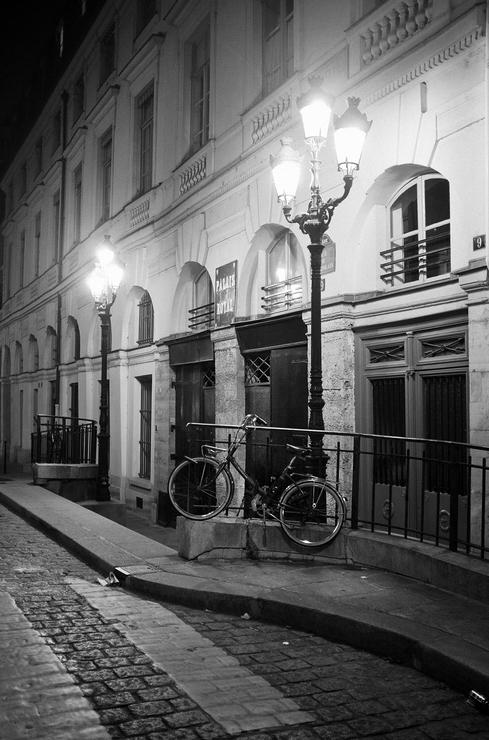 Dans la lumière du Palais Royal