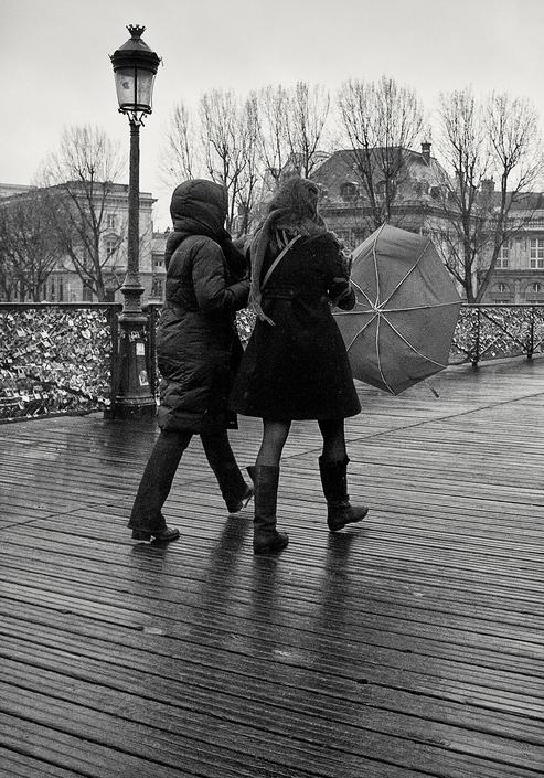 Le parapluie retourné